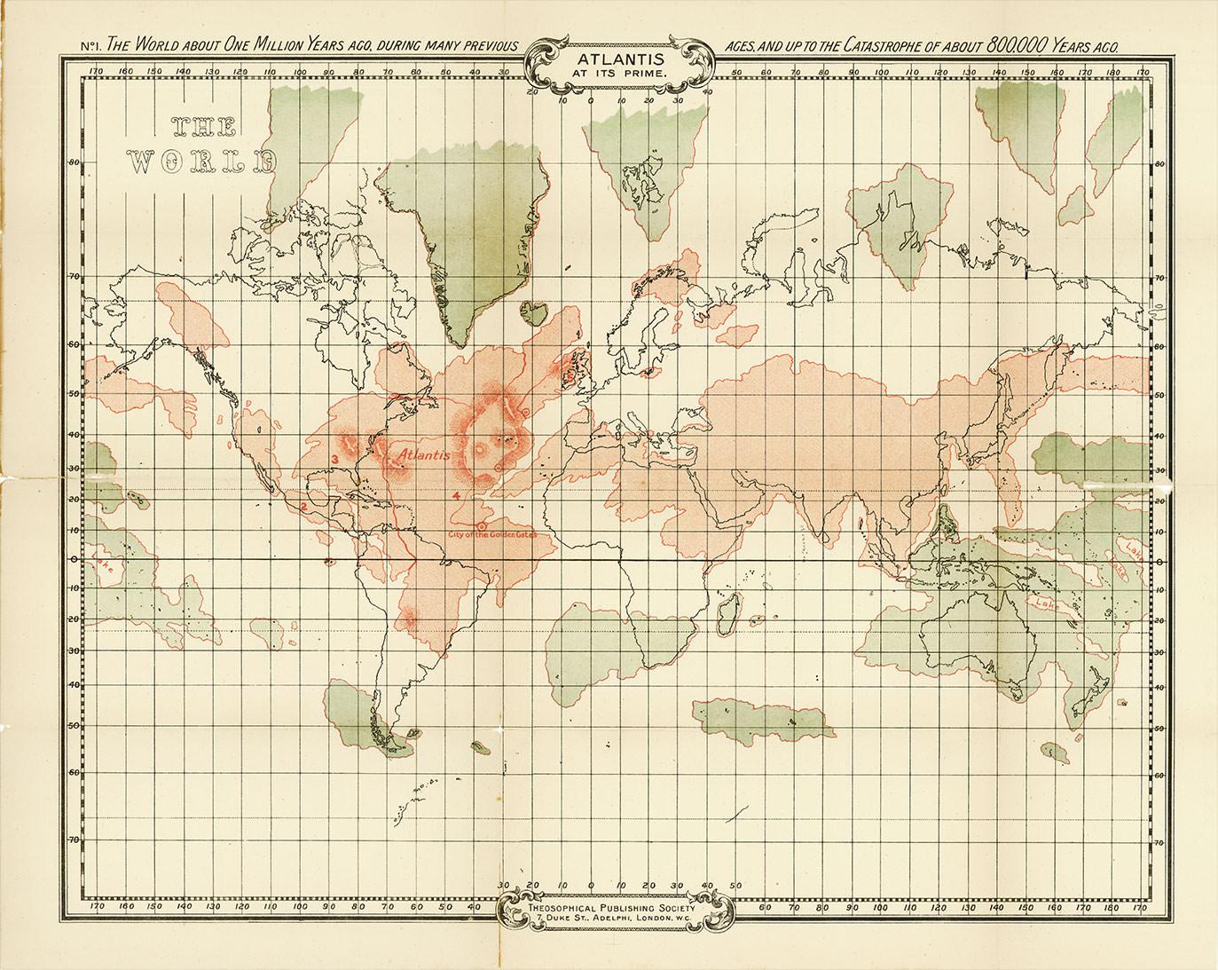 Lémurie, Atlantide et William Scott-Elliot