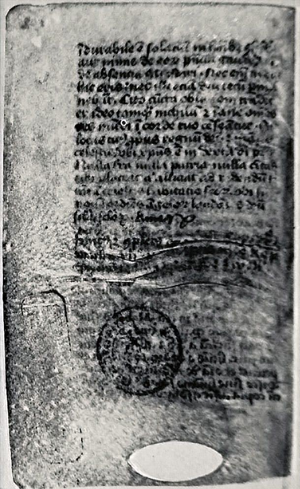 Manuscrit de l'Imitation de Jésus-Christ - 2