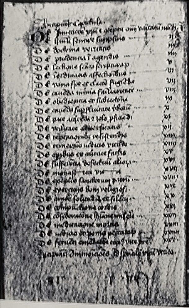 Manuscrit de l'Imitation de Jésus-Christ - 3