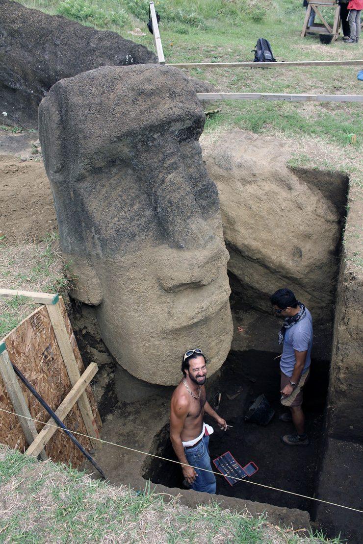 Statue Île de Pâques - 1