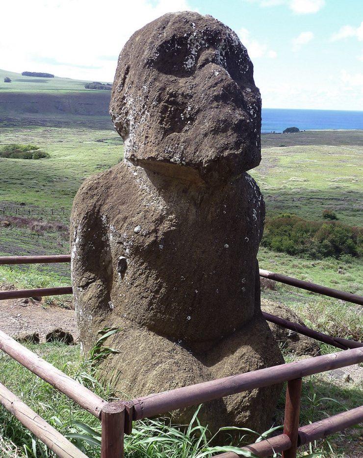 Statue Île de Pâques - 4