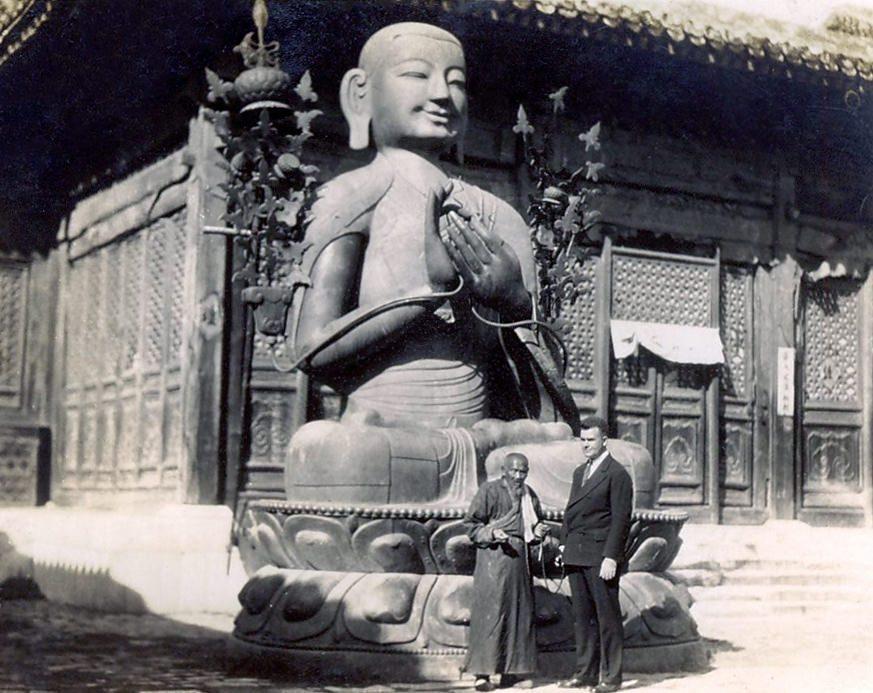 Statue de Tsongkhapa, Pékin 1930