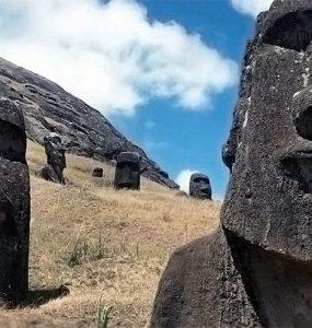 Les Mo'ai de Rapa Nui