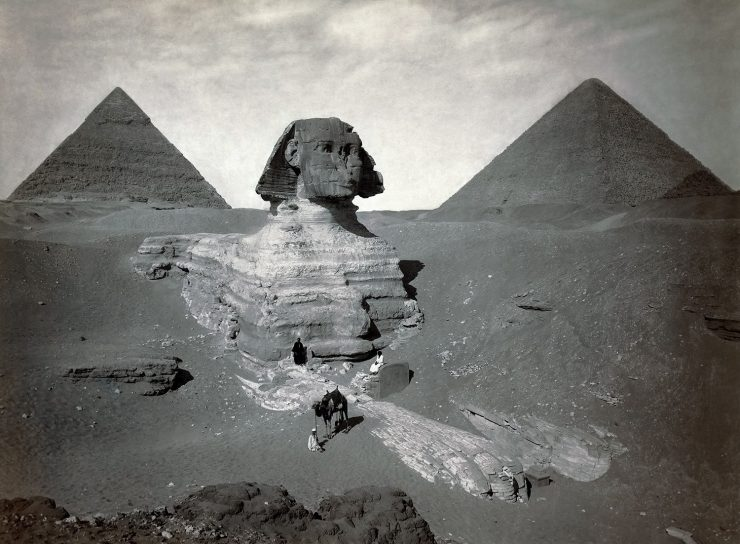 Ancienne photo du Sphinx 3