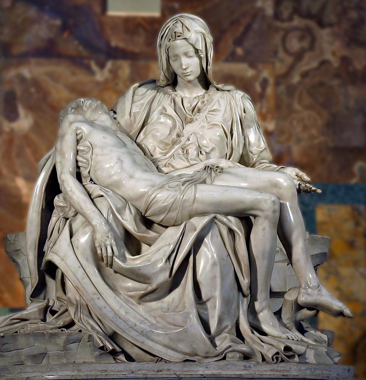 La maquette de la Pietà